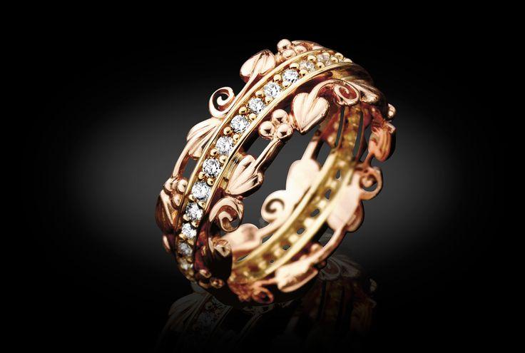 Stunning Wedding Rings Celtic Welsh Gold Wedding Rings