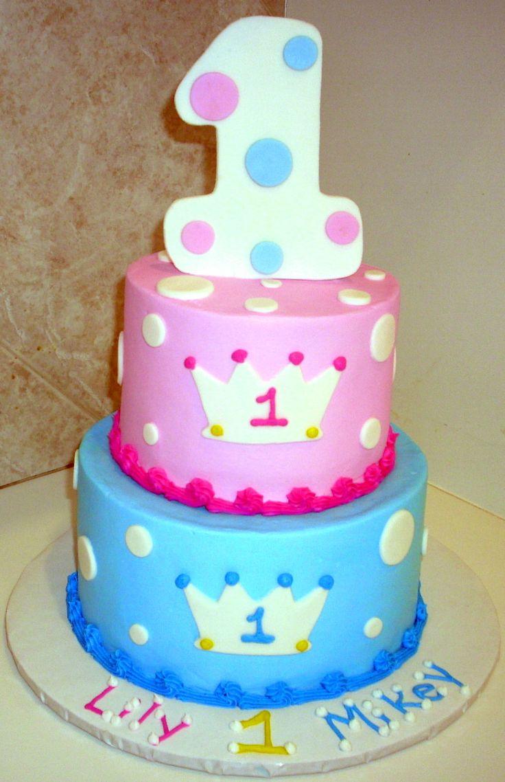 1st Birthday Prince Princess Twins 1st Birthday Ideas