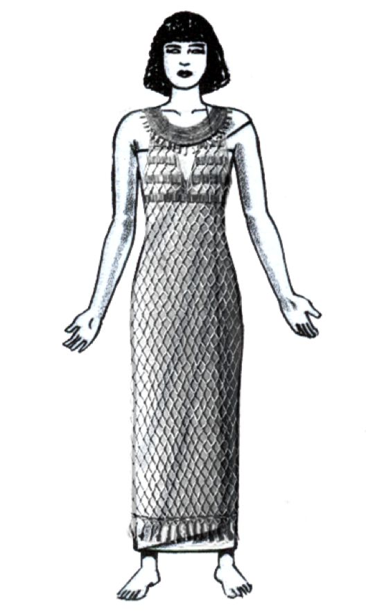 Ancient Egyptian Sheath Dress Was A Simple Straight Dress