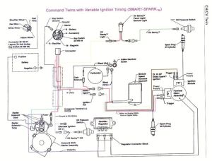 Kohler Engine Electrical Diagram | kohler engine parts