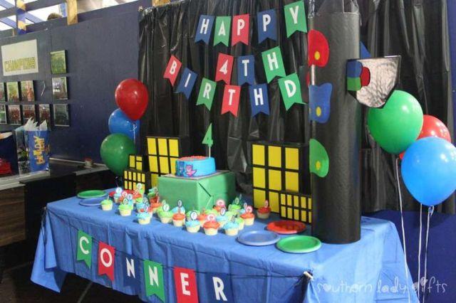 Pj masks birthday party ideas birthdays 4th birthday