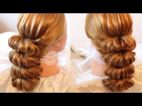 Hairstyle By Using Rubber Bands Beauty 5 YouTube