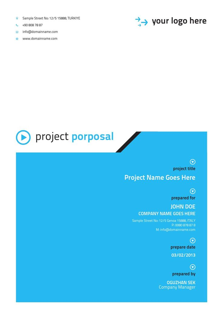 Project Proposal Word Template  sample apa cover page 9 free