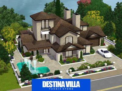 The Sims Resource - TSR Destina luxury mansion by Takdis ...