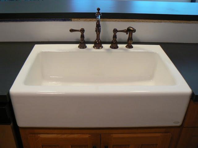Farmhouse Sink Advice Kitchens Forum GardenWeb Dickinsons Not Undermount Kitchen Faucets