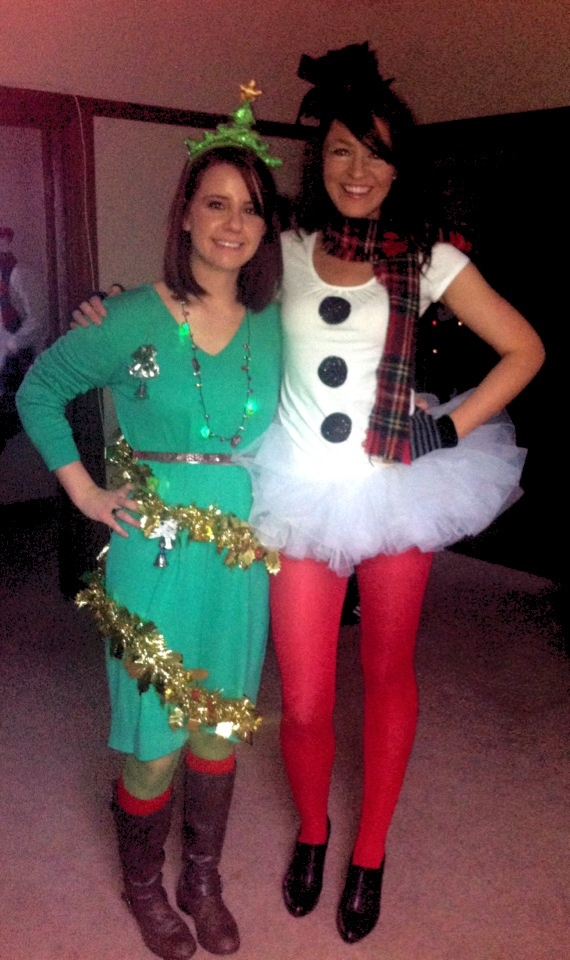 SantaCon holiday costume ideas. frosty the snowman costume