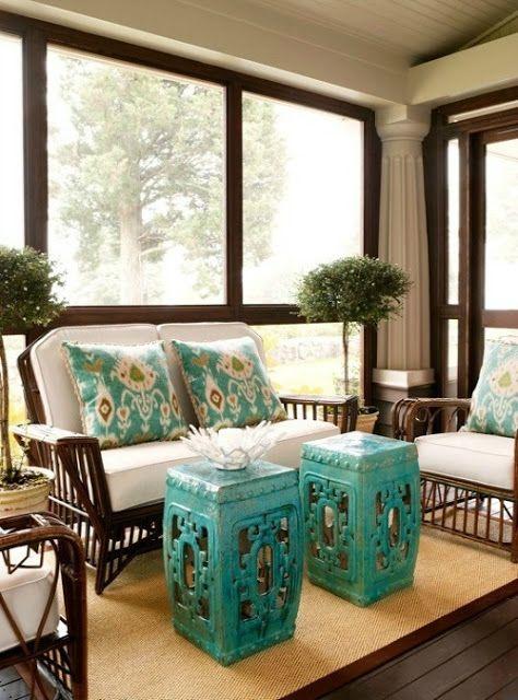 Screened Porch Color Ideas