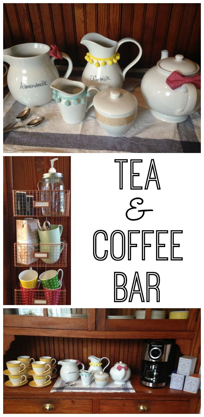 How to Create a Tea & Coffee Bar Baby showers, Brunch