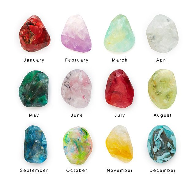 Birthstone Mineral Soaps Shape Soaps And The Ojays