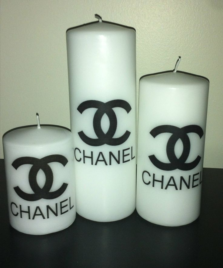 Candle Set Chanel And Candles On Pinterest