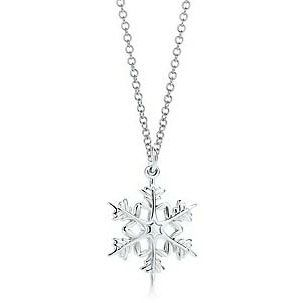 Tiffany & Co Attractive Snowflake Necklace