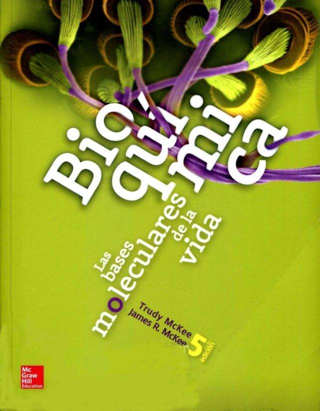 Resultado de imagen de bioquimica mckee 5ta edicion
