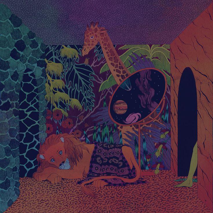 Glass Animals Zaba artwork by Micah Lidberg Illustration