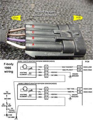 GM O2 Sensor Wiring Diagram | http:shbox1HO2S_connectorjpg | o2sensor | Pinterest