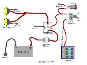 Off road lights wiring diagram | Alternate Com | Pinterest