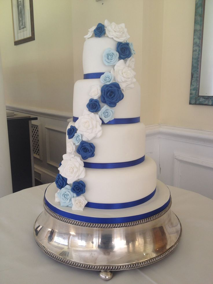 17 Images About Cobalt Blue Wedding Inspirations On