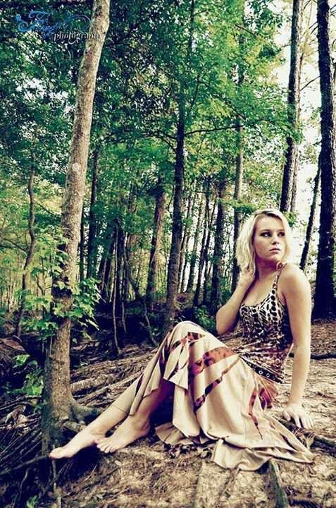 In The Woods Wilderness Photoshoot Portrait Hippie