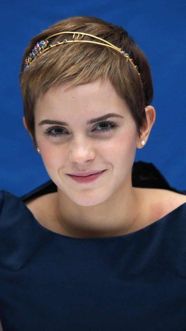 Emma Watson short hair My Style Pinterest Emma