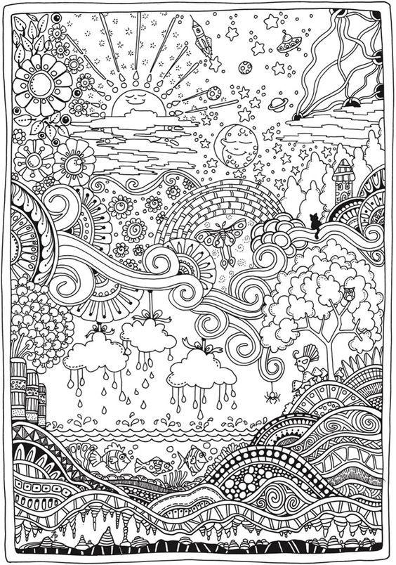 2744 Best Images About Adult Coloring Therapy Free