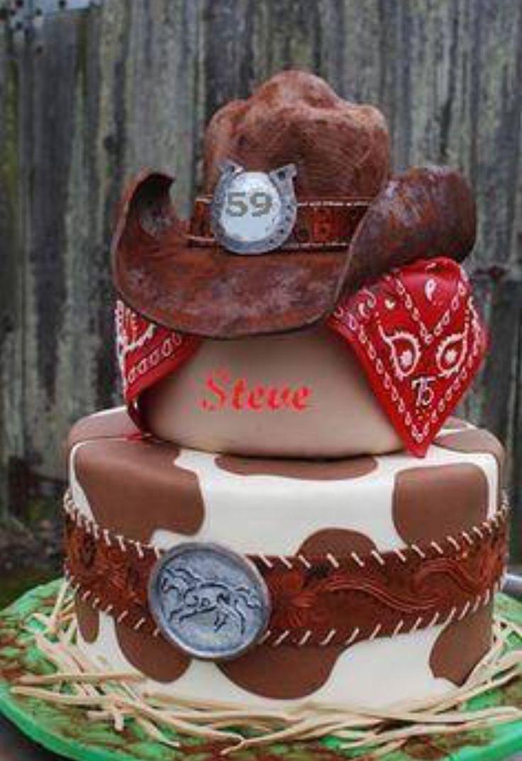 90 Best Images About Cowboy Cake Ideas On Pinterest