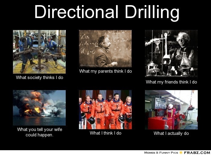 Directional Drilling... Meme Generator What i do Work