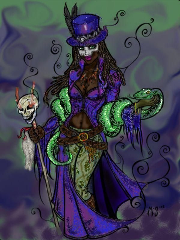 Voodoo Queen Voodoo Queen Colored By Myrrth1331 On