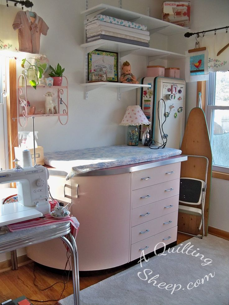 139 Best Images About Sewing Closet On Pinterest Craft Tables Sewing Machine Tables And