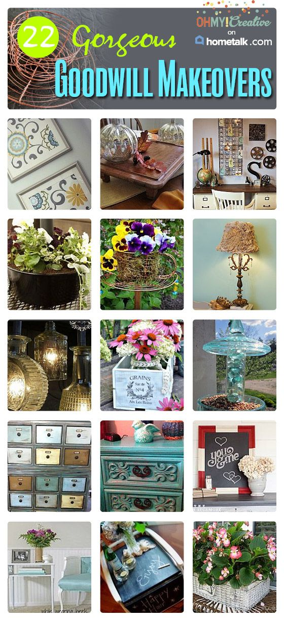 DIY::Gorgeous Goodwill Makeovers –