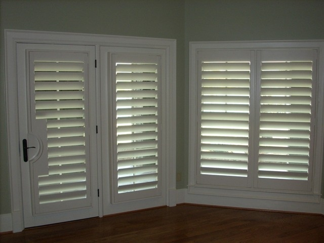 45 Plantation Shutters Single Panels No Center