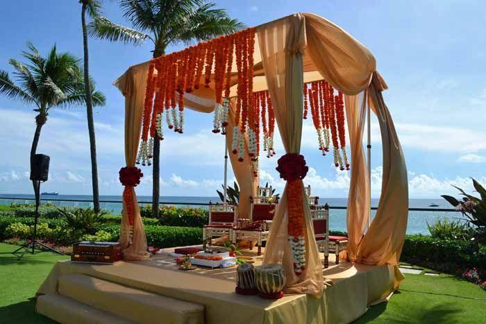 indian wedding lawn