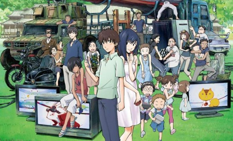 Image result for summer wars anime movie
