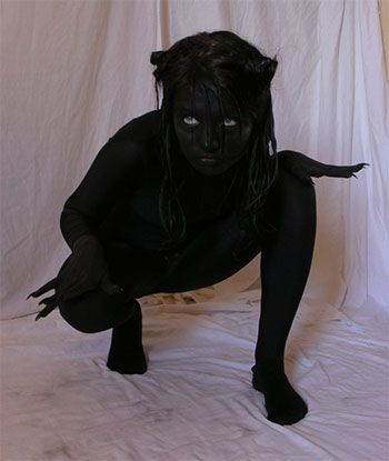 Unique Yet Scary Halloween Costume Ideas 2013 2014 For Girls Women 2 Unique Yet