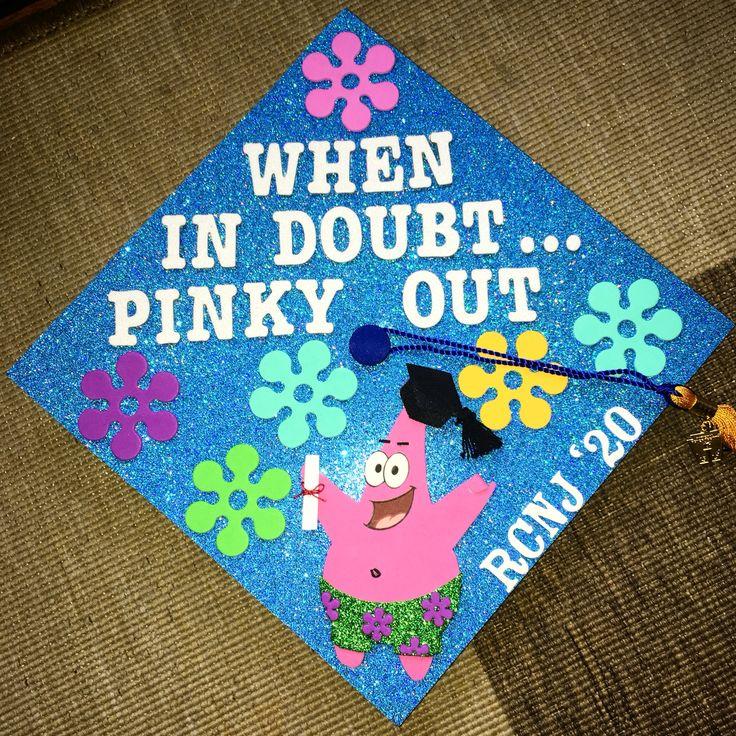 Graduation Cap Ideas SpongeBob Patrick Graduation Cap