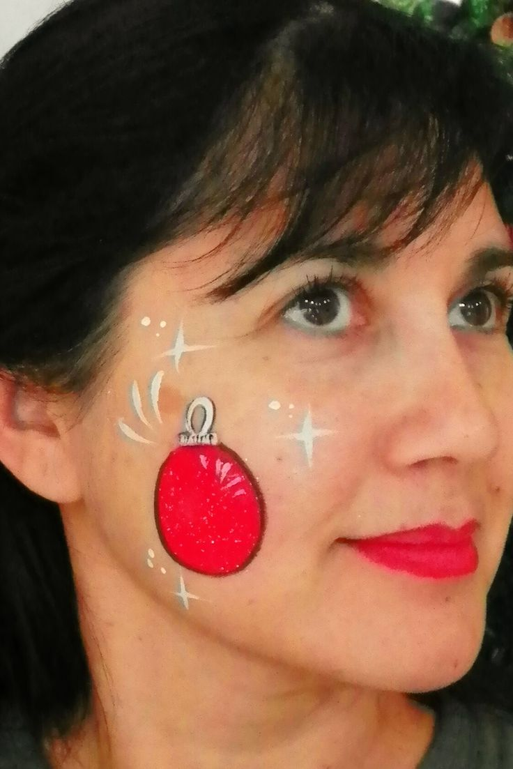 Easy Christmas Face Painting Ideas For Kids Novocom Top