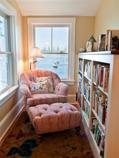 Reading Nook, great idea for that s