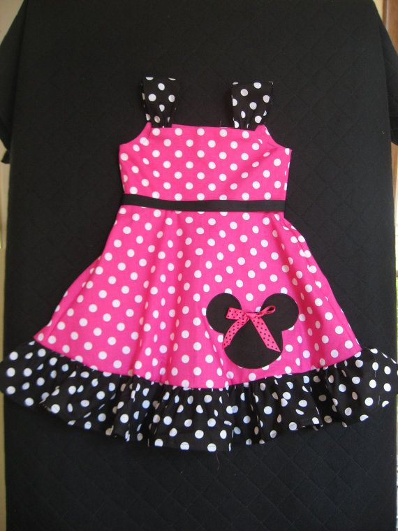 Custom order for Lauren Minnie Mouse dress by izziestyle on Etsy, $35.00