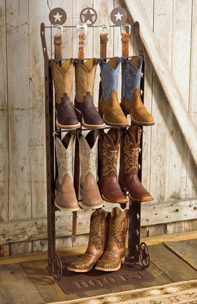 Rustic Boot Rack Fashion Pinterest Boot Rack Boots