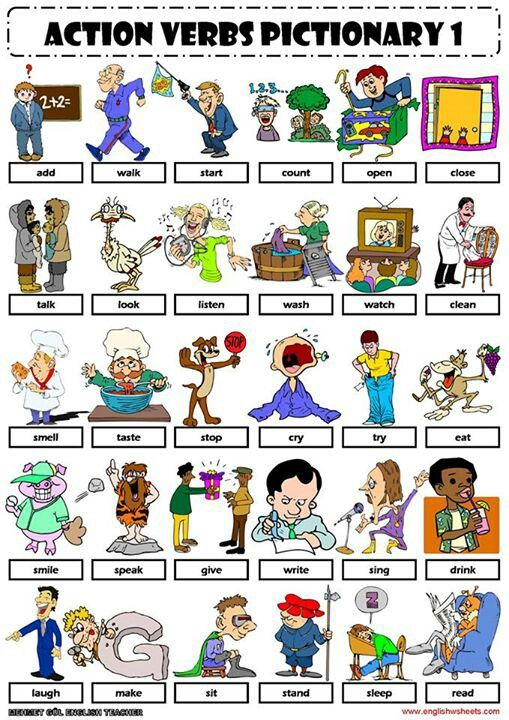25 Best Ideas About Action Verbs On Pinterest English