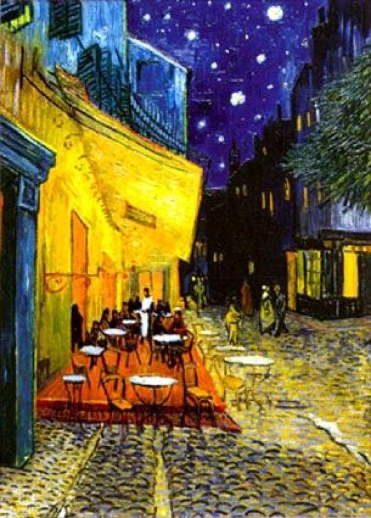 """Night Cafe"" Van Gogh:"