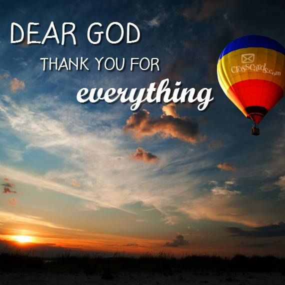 Thank All Prayers You Warm Your
