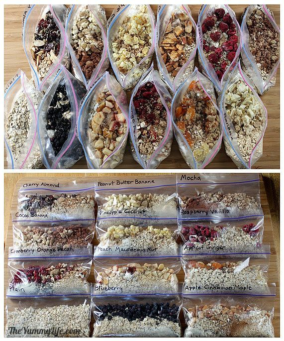 ~new~ Healthy Instant Oatmeal Packets—for quick hot or refrigerator oatmeal. 12 easy, make-ahead recipes for grab-and-go home,