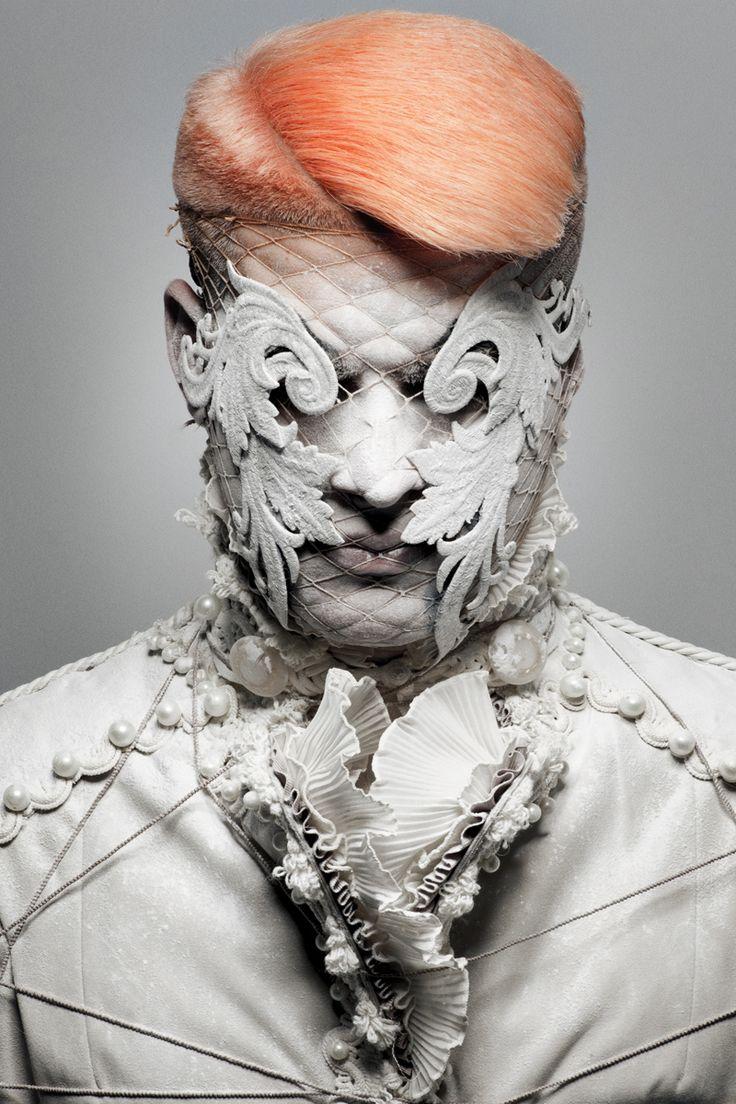 Photographer David Arnal Stylist Visori Fashionart Hair
