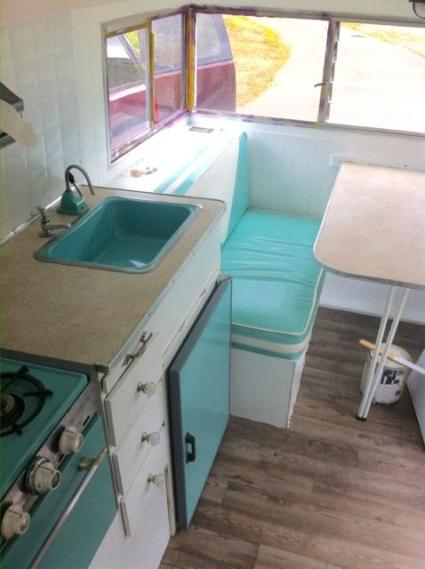 1965 FleetCraft Travel Trailer Renovation The Sea Winds