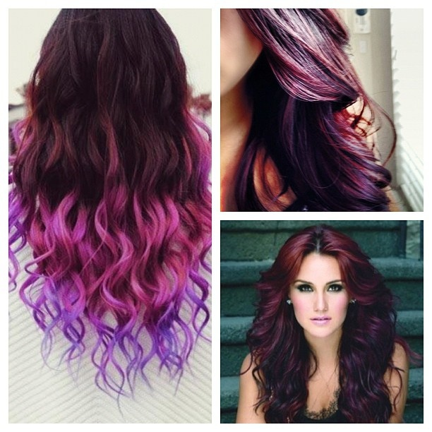 Burgundy And Plum Hair Color That I Want Crazy