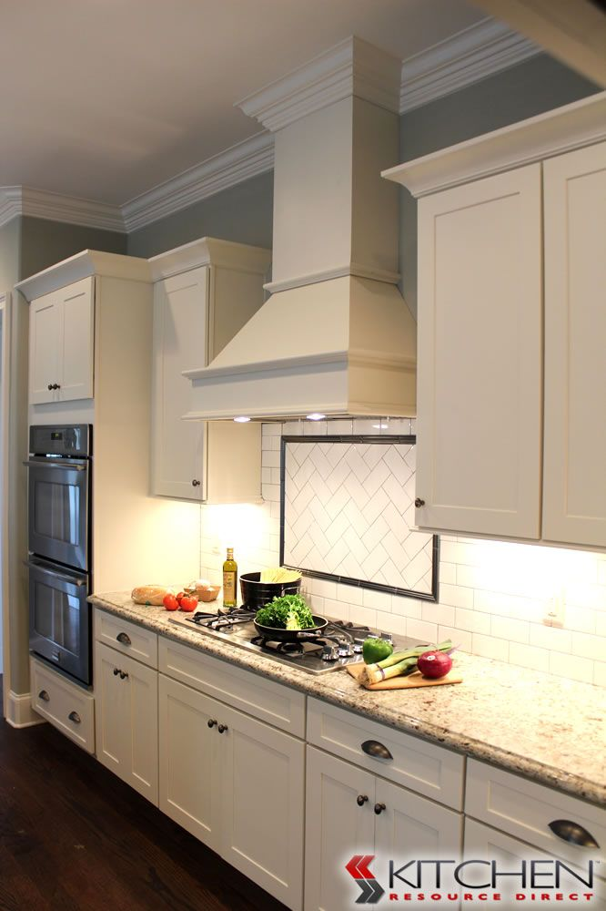 Simple Shaker Style Kitchen Using Titusville RTA Shaker