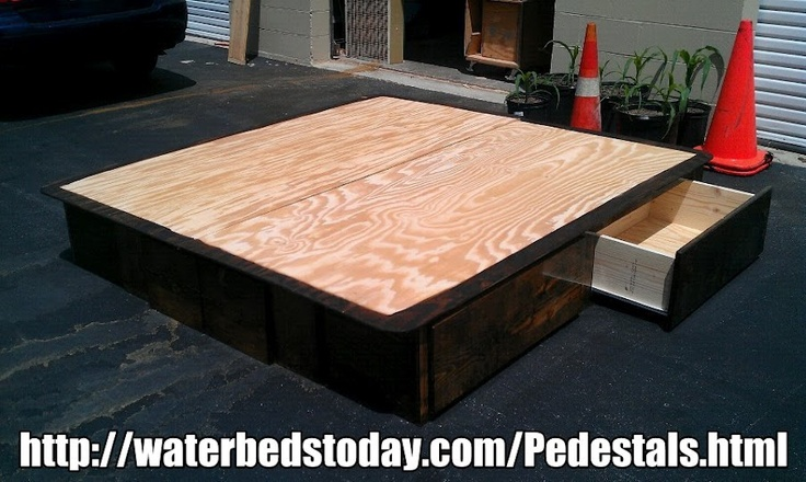 16 Best Images About WATERBED DRAWER PEDESTALS On