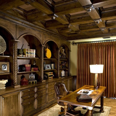 Mans Office Design Pictures Remodel Decor And Ideas