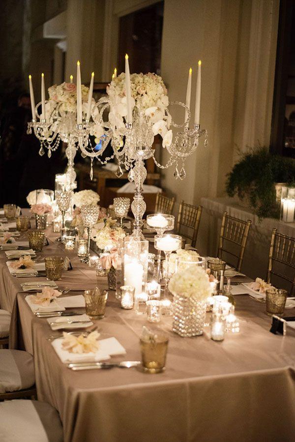 Four Seasons Las Vegas Wedding Table Decor By Naakiti