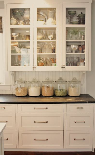 If you have always loved the look of a farmhouse inspired kitchen but aren't ready to rip out your old (or