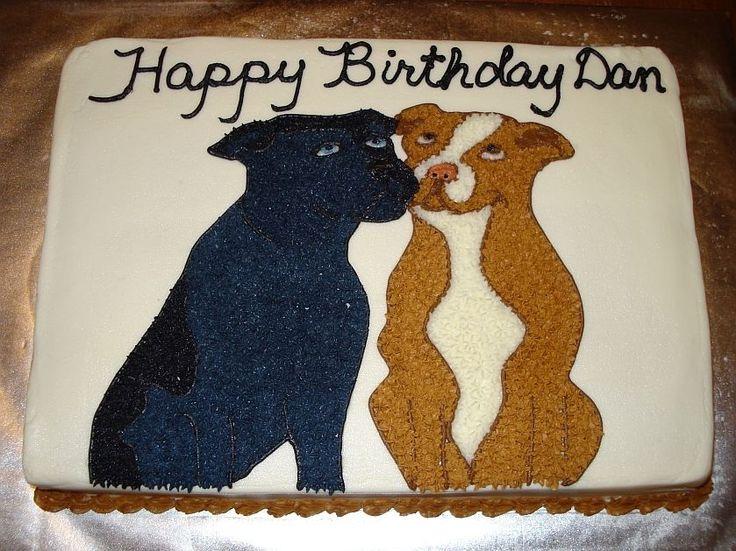 Pit Bulls Birthday Cakes Pit Bull Aka Staffordshire